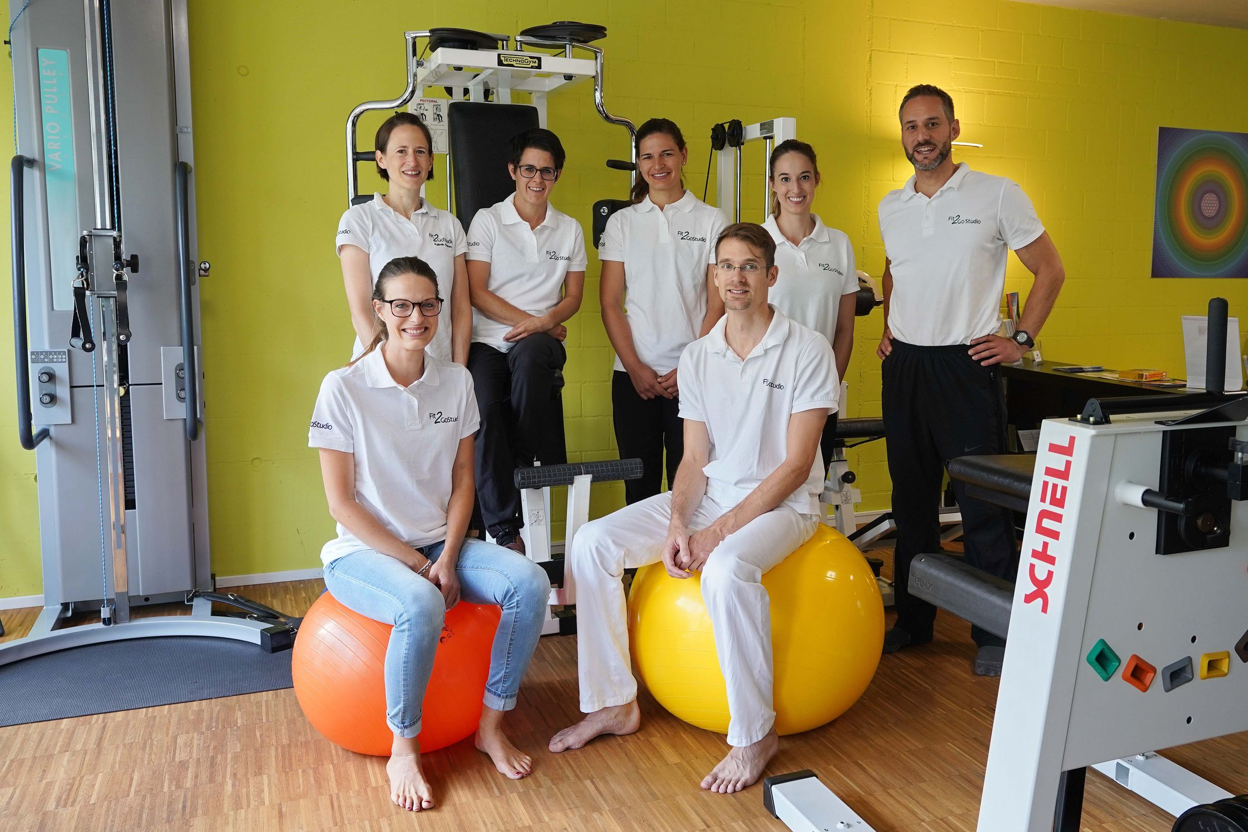 Das Team - Fit2Go Center in Uster 2